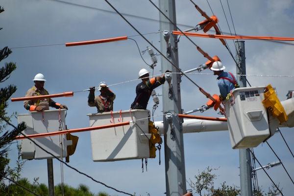 Ward Electric Company Crews